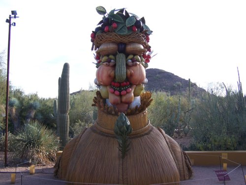 """Summer"" from ""Four Seasons"" by Philip Haas, exhibited at Desert Botanical Garden"