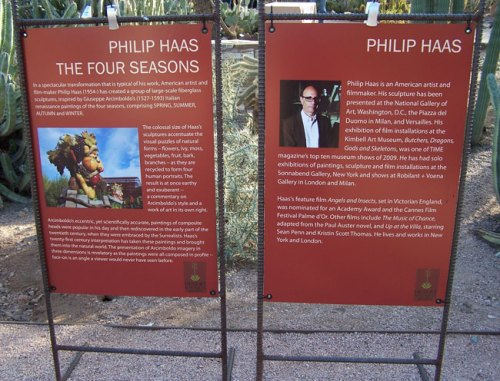"Philip Haas artist statement for ""The Four Seasons"""