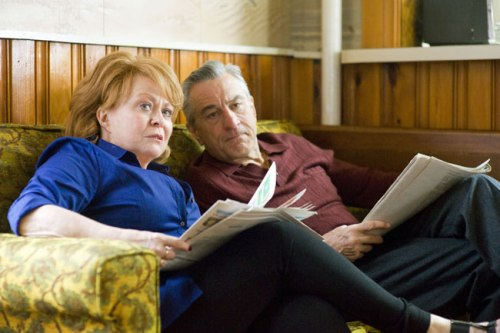 "Jacki Weaver (Dolores) and Robert De Niro (Pat Sr.) in ""Silver Linings Playbook"" from The Weinstein Company"
