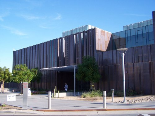 South Mountain Community Library on the SMCC campus in Phoenix