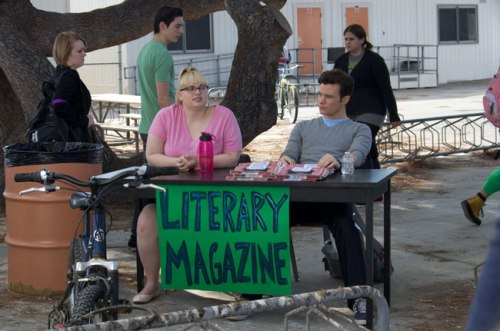 "Rebel Wilson and Chris Colfer in ""Struck by Lightning"" distributed by Tribeca Film. Photo courtesy of Tribeca Film."