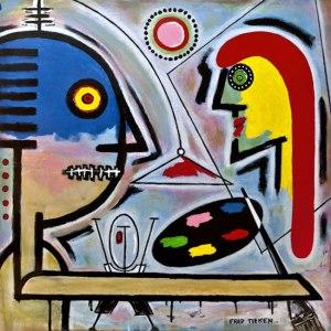 """The Artist"" by Fred Tieken"